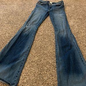 MIA 5 Pocket Midrise Flare Jean